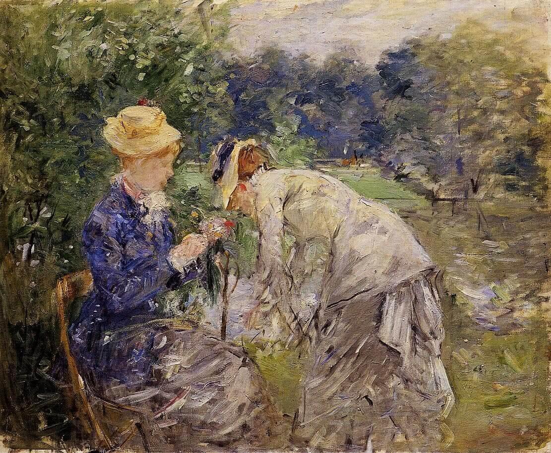"""""""Bois de Baoulogne'de"""", Berthe Morisot"""